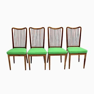 Mid-Century Austrian Dining Chairs, 1950s, Set of 4