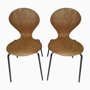 Beistellstühle von Erik Jorgensen für Danerka, 2000er, 2er Set