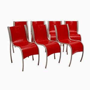 Italienische Sessel von Ron Arad für Kartell, 1990er, 7er Set