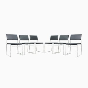Wire Dining Chairs, 1960s, Set of 6