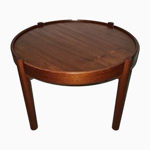 Mid-Century Teak & Cork Coffee Table