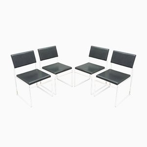 Wire Dining Chairs, 1960s, Set of 4