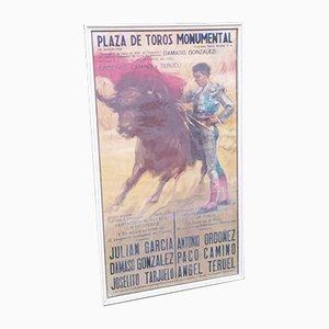 Mid-Century Bullfight Poster