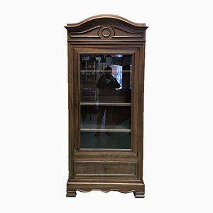 Louis Philippe Style Walnut Wall Unit