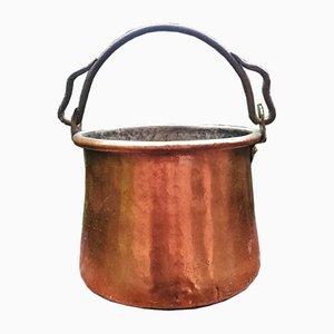 Antiker Kupfer Eimer