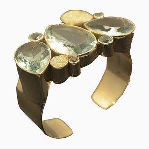 Bracelet Argenté 925 par Jutta Trenker pour TIPICO, 1990s