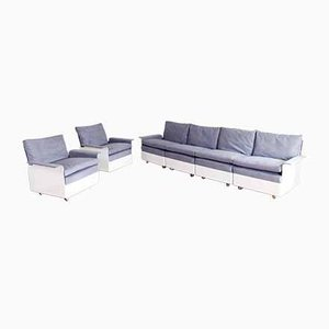 Living Room Set by Wolfgang Feierbach for Vitsoe, 1960s, Set of 3