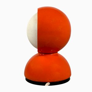 Red Eclisse Table Lamp by Vico Magistretti for Artemide, 1960s