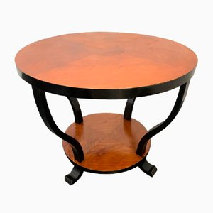 Art Deco Elm Coffee Table, 1930s