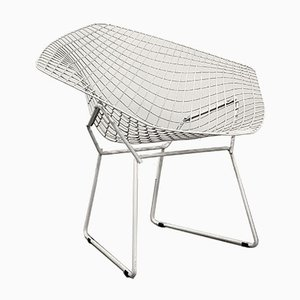 W Diamond Side Chair by Harry Bertoia for Knoll Inc. / Knoll International, 1970s