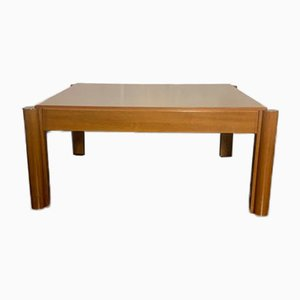 Solid Cherry & Walnut Coffee Table, 1970s