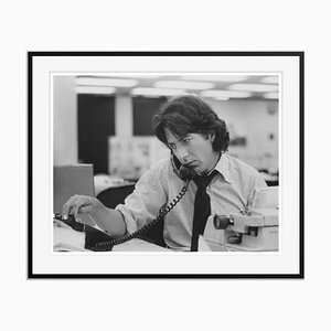 Dustin Hoffman Archival Pigment Print Framed in Black by Everett Collection