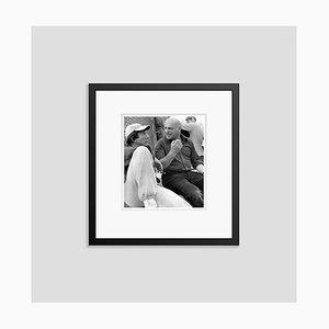 John Schlesinger & Dustin Hoffman Archival Pigment Print Framed in Black by Everett Collection