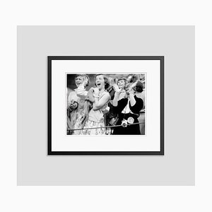 Elvis Hysteria Archival Pigment Print Framed in Black by Phillip Harrington