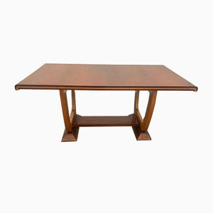 Elm & Maple Dining Table, 1940s