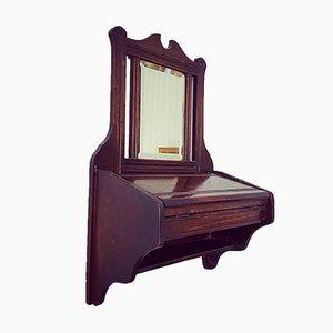 Edwardian Oak Mirror Box