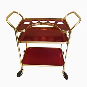 Mid-Century Aluminum Shopping Trolley from Kaymet