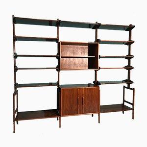 Danish Rosewood Shelf, 1950s