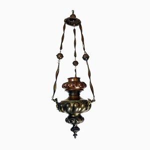 Antique Copper Ceiling Lamp