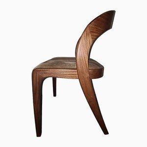 Mid-Century Teak Side Chair