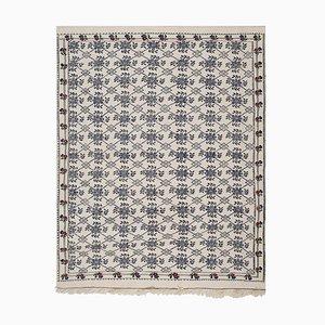 Vintage Turkish Jajim Flat Weave Rug