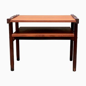 Mid-Century Teak Side Table, Italy, 1970