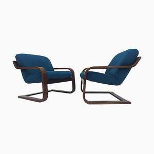 Mid-Century Armchairs from Westnofa, 1970s, Set of 2