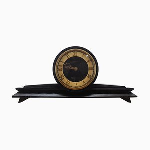 Art Deco Fireplace Clock, 1930s