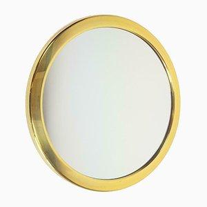 Vintage Hollywood Regency Brass & Gold Mirror, 1970s