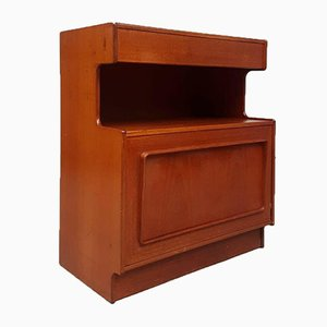 Mid-Century Compact Sideboard with Media Cabinet from Mcintosh