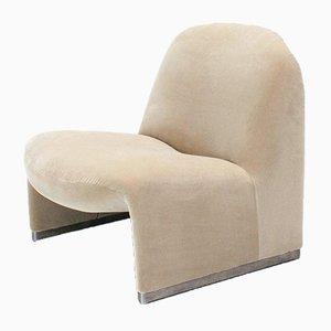Velvet Alky Chair by Giancarlo Piretti for Artifort, 1970s