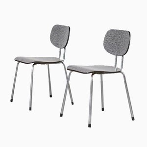 Model CT2 Dining Chairs by Willy van de Meeren for Tubax, Set of 2