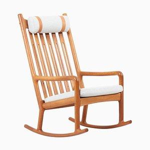 Rocking Chair in Teak by Jacob Kjær, 1960s