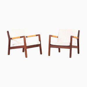 Lounge Chairs by Carl Gustav Hiort Af Ornäs, 1950s, Set of 2