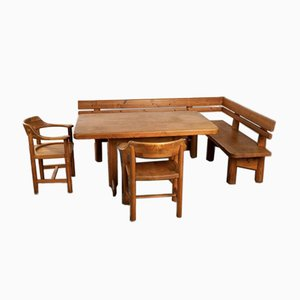 Dining Table & Chairs Set by Rainer Daumiller