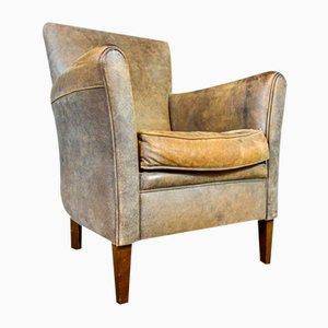 Vintage Sessel aus Nubukleder von Muylaert