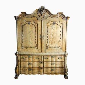 Antique Oak Cabinet, 1850s