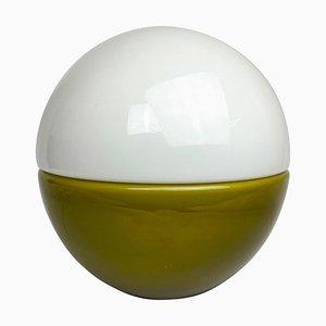 Scandinavian Modern Glas Tischlampe von Bergboms, 1970er