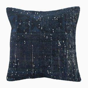 Vintage Blue Pillow Cover