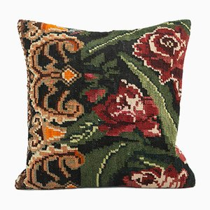 Vintage Black Pillow Cover