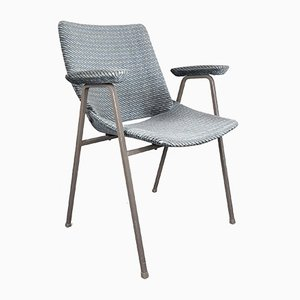 Mid-Century Plywood & Textile Office Chair by Niko Kralj for Stol Kamnik, 1970s