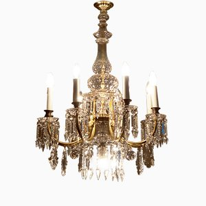Cut Crystal Chandelier from J. L. Lobmeyr
