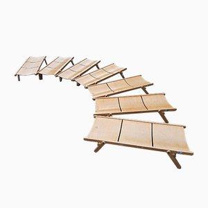 Kleines Rex Collection Tagesbett aus Holz von Niko Kralj, 1974