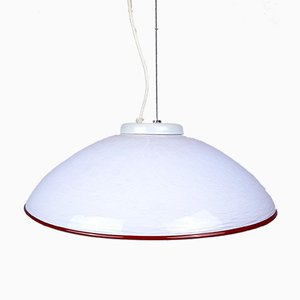 Lampe à Suspension Vintage en Verre de Murano, 1970s