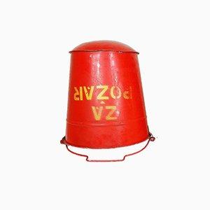 Vintage Fire Bucket, 1980s