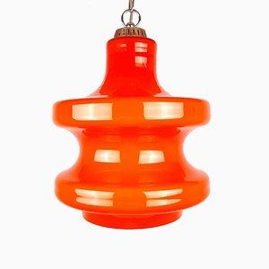 Mid-Century Orange Pendant Lamp from Sijaj Hrastnik