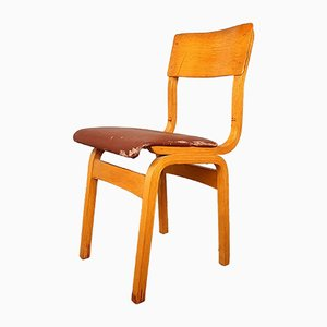 Vintage Wooden Dining Chair, 1960s