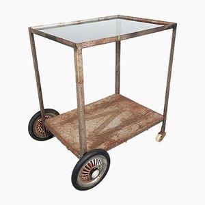 Vintage Metal Bar Cart, 1960s