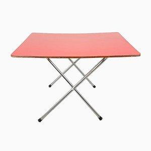 Mid-Century Folding Table, Italy, 1960s