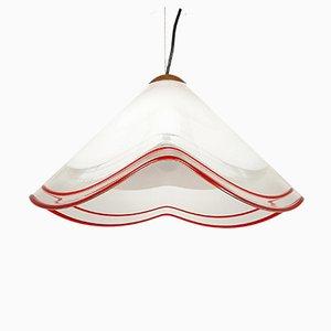 Murano Glass Pendant Lamp from Renato Toso, Italy